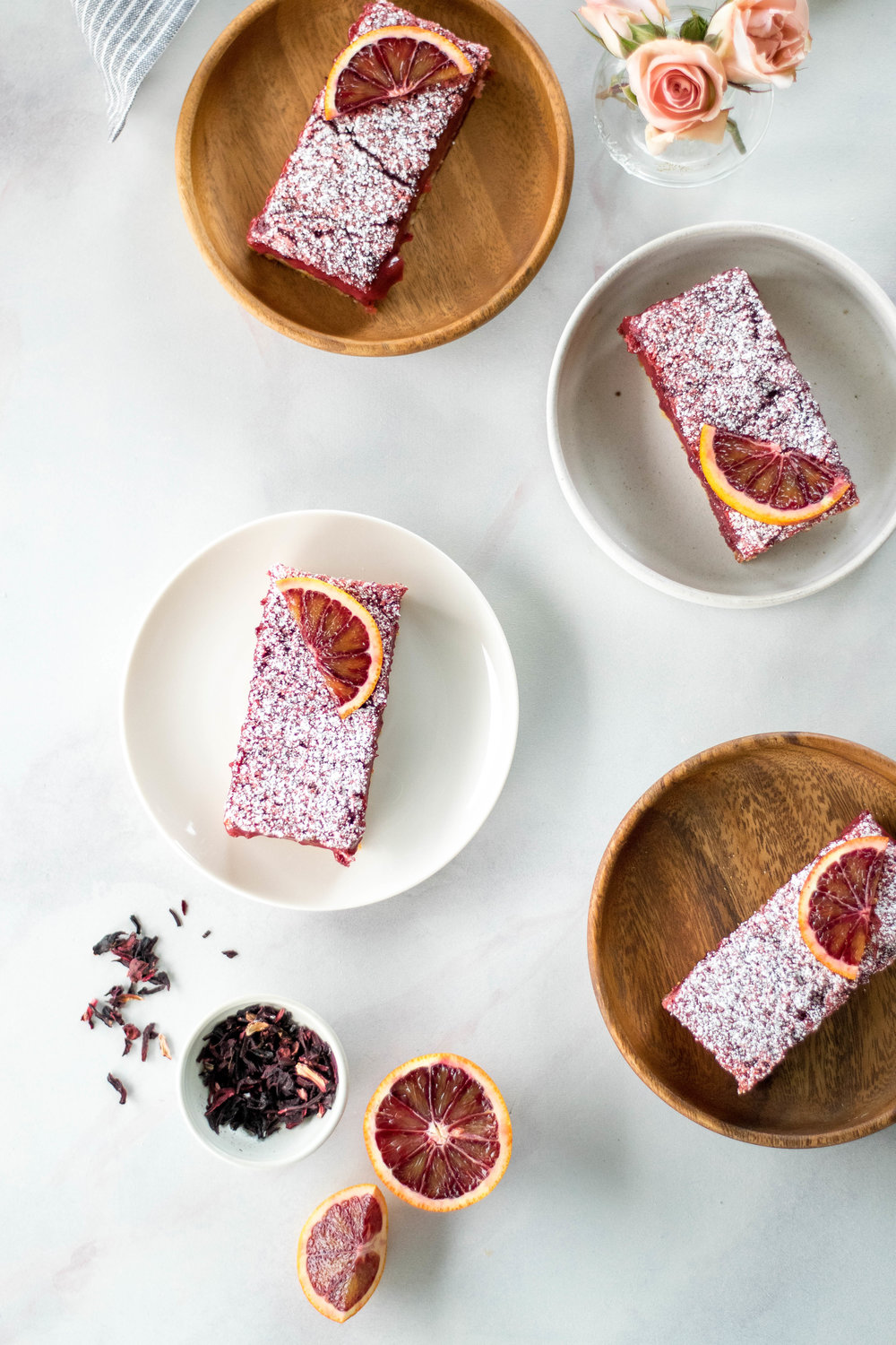 Hibiscus + Blood Orange Bars | All Purpose Flour Child