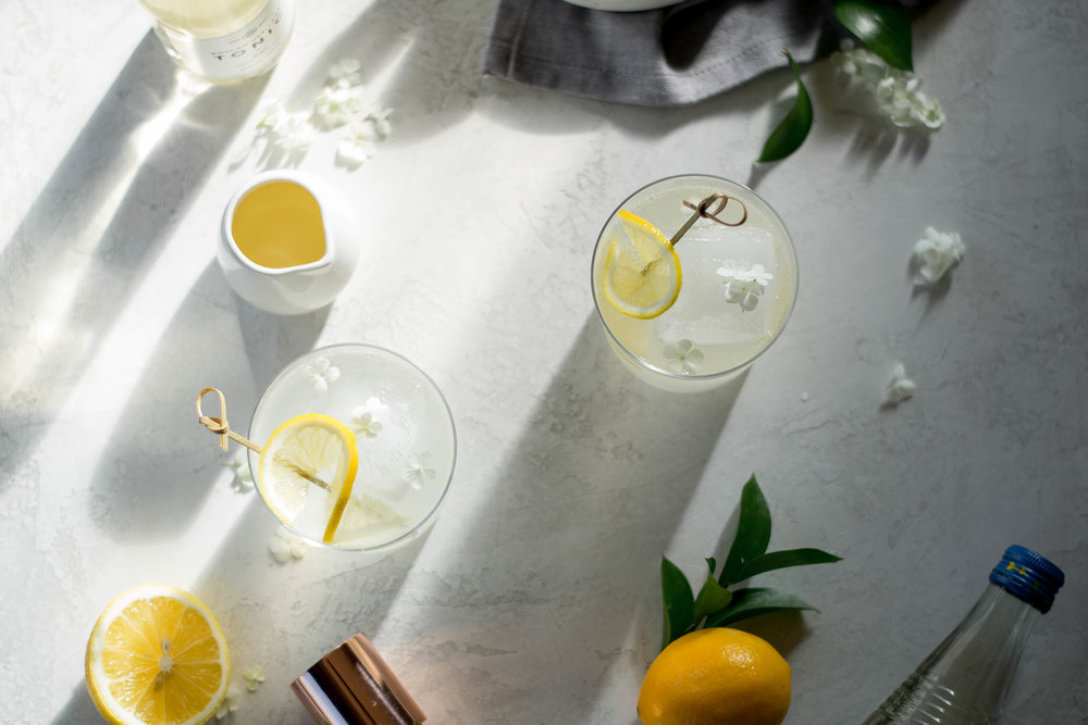 Orange Blossom Gin + Tonic | All Purpose Four Child