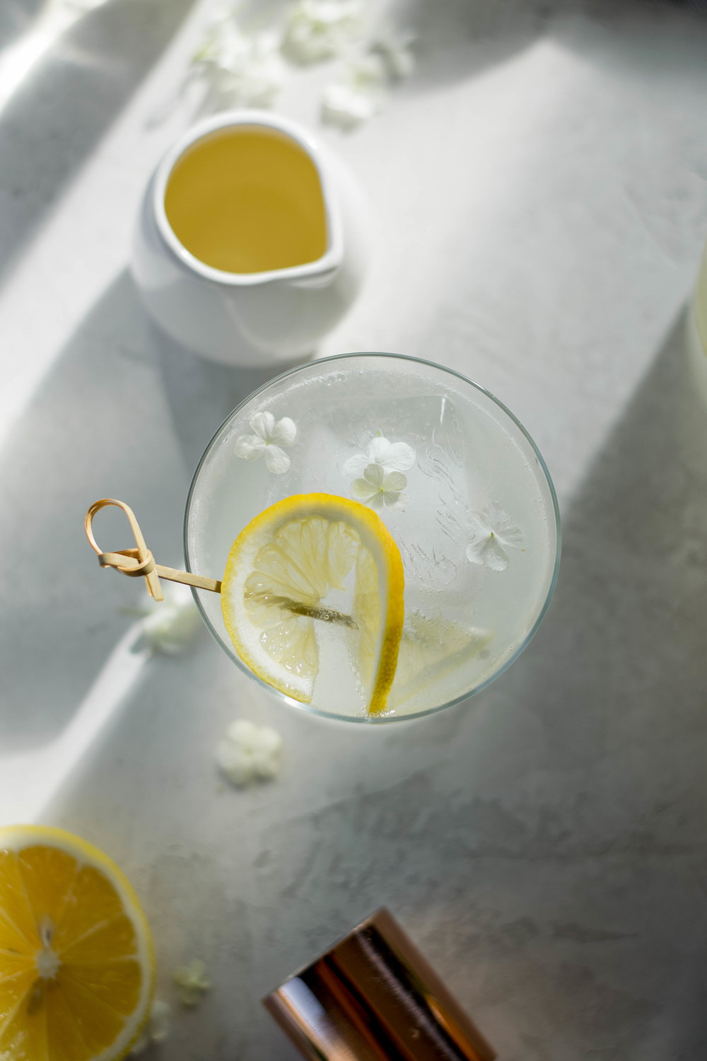 Orange Blossom Gin + Tonic | All Purpose Flour Child