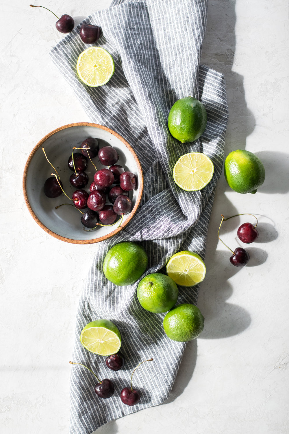 Cherry Lime Bars | All Purpose Flour Child