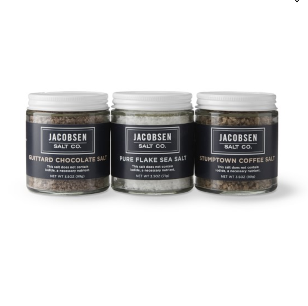 Jacobsen Salt Co. Dessert Trio