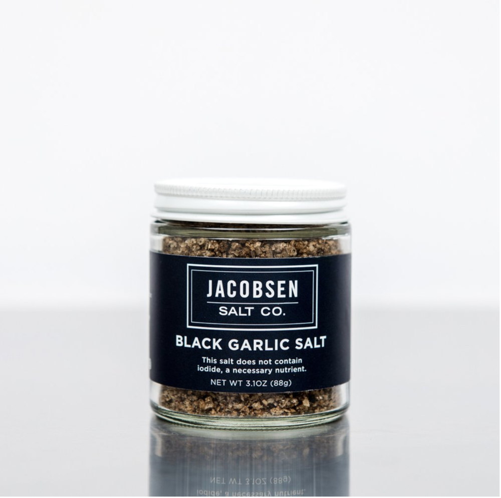 Jacobsen Salt Co. Black Garlic Salt