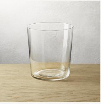 CB2 Marta Double Old-Fashioned Glass