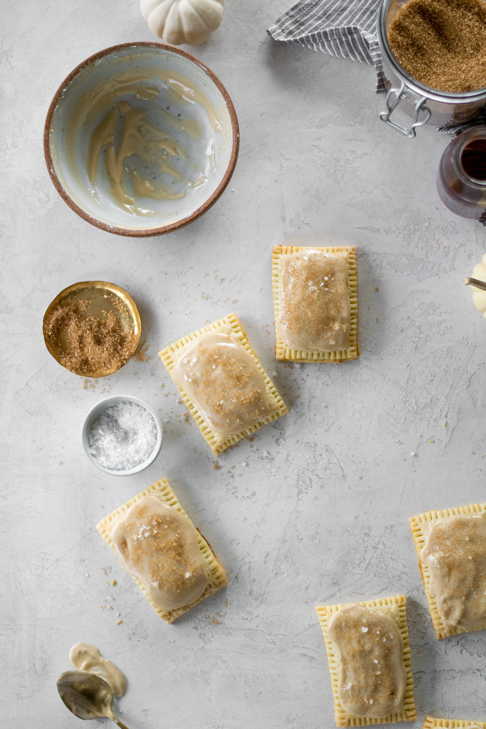 Maple Bourbon Pumpkin Pop Tarts | All Purpose Flour Child