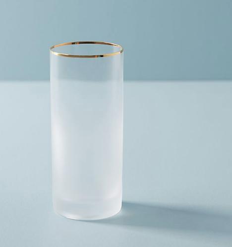Anthropologie Dobra Highball Glass