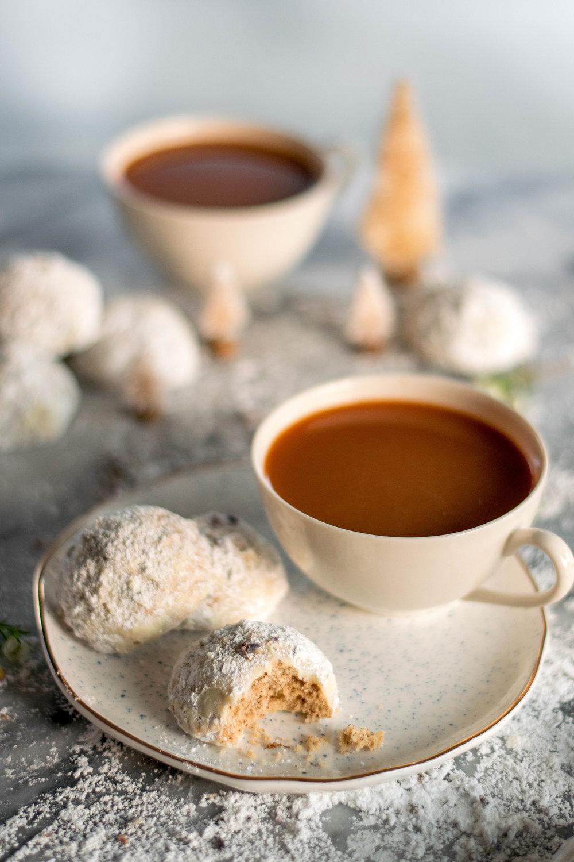 Seattle Fog Snowball Cookies | All Purpose Flour Child
