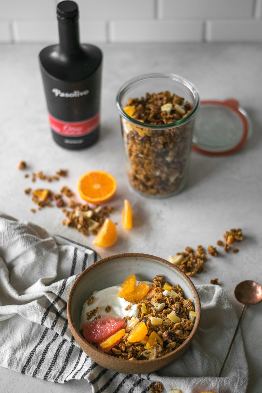 Winter Citrus Granola | All Purpose Flour Child