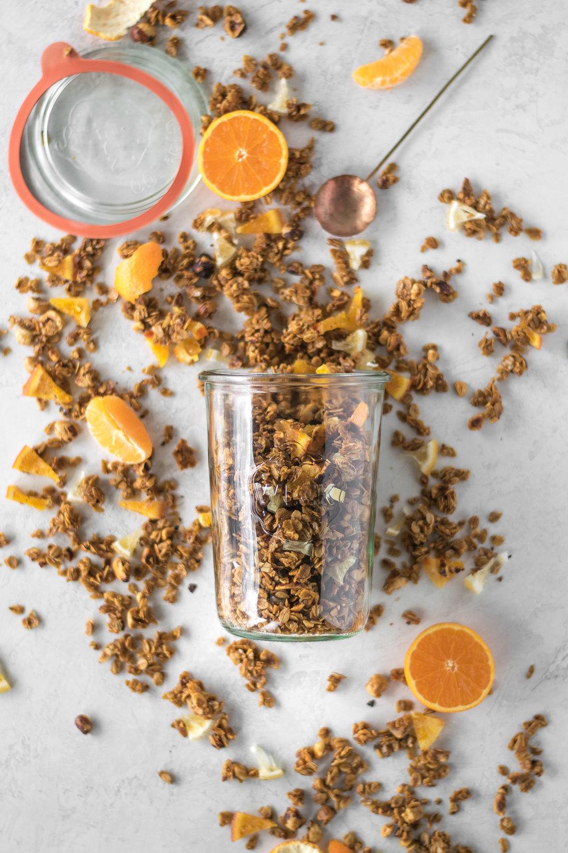 Winter Citrus Granola | All Purpose Flour Child