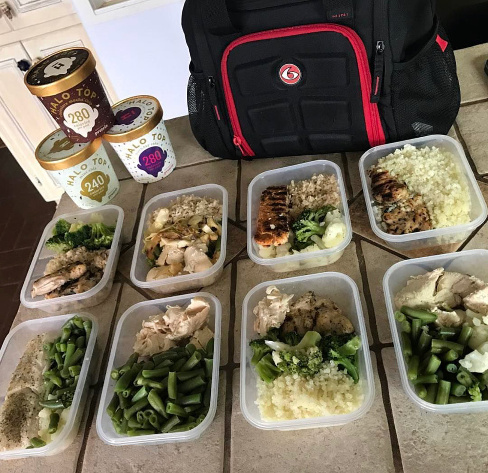 17. I prepped my food for every meal for 6 years (thank goodness this is over).