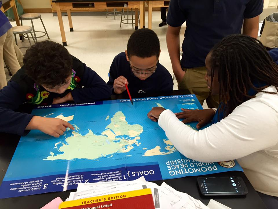 Where in the world is Madagascar? Guyana? Samoa? These kids had a lot of discovering to do.