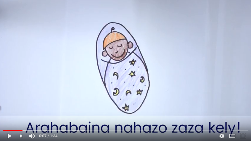 Multimedia to Affect Behavior Change - I produced this video to urge new mothers in Madagascar to exclusively breastfeed during the first six months of their child's life. This video was made in partnership with USAID.
