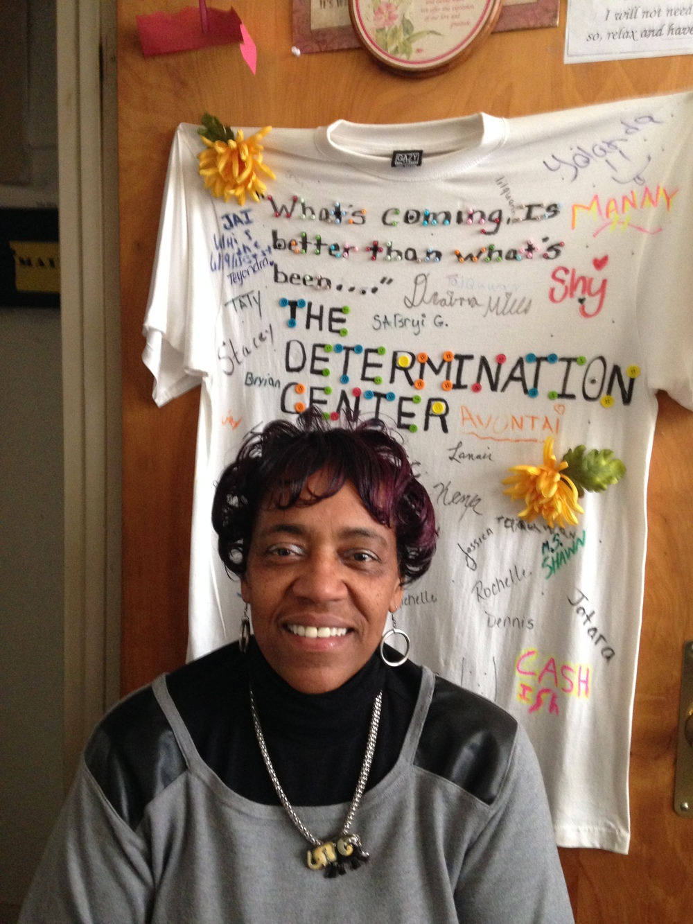 Mrs. Bettie Graham, Founder and Director of The Determination Center