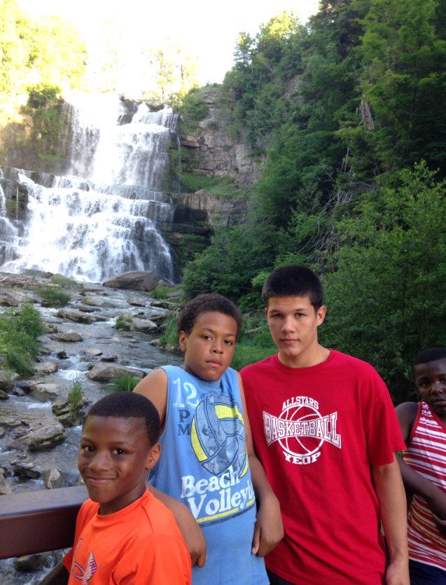 SUMMER 2014 FIELD TRIP TO CHITTENANGO FALLS