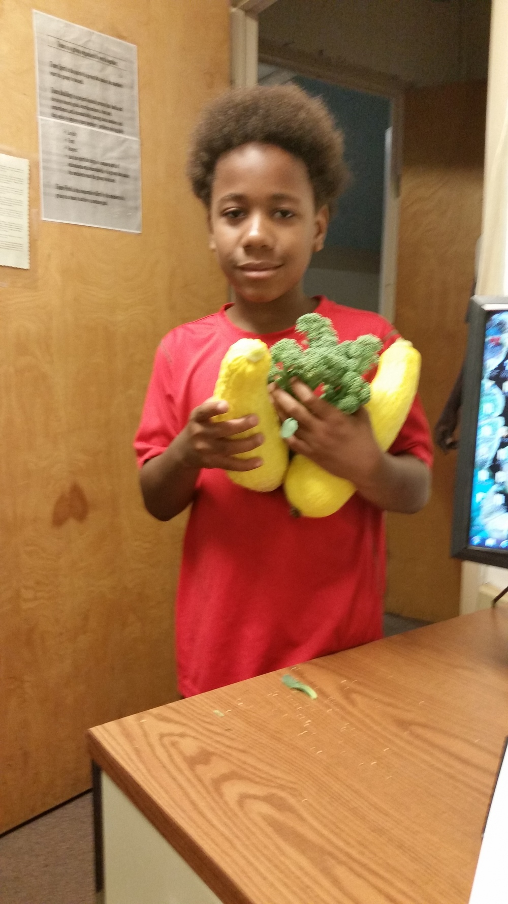 SUMMER 2015: VEGGIES FROM THE DETERMINATION CENTER GARDEN!