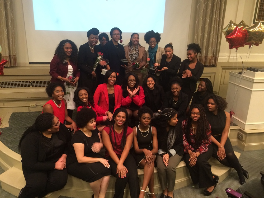 MARCH 2016 : SOJOURNER TRUTH AWARD RECIPIENTS --SURROUNDED BY THE SYRACUSE UNIVERSITY CHAPTER OF THE NATIONAL ASSOCIATION OF NEGRO BUSINESS AND PROFESSIONAL WOMEN'S CLUBS, INC. CONGRATULATIONS TO BETTIE & THANK YOU TO ALL THE WOMEN PICTURED ABOVE WHO HELPED ORGANIZE A VERY SPECIAL EVENING CEREMONY!