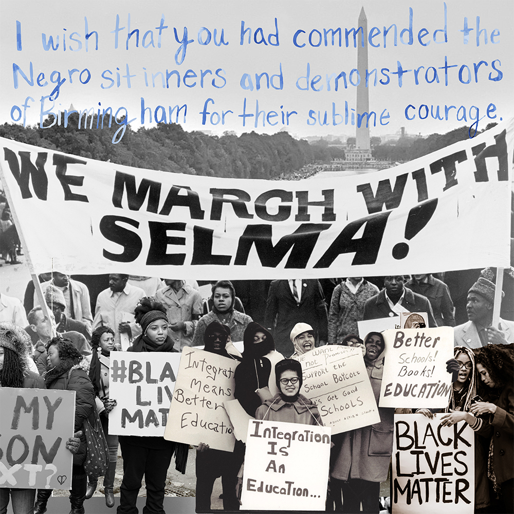 We March with Selma for Black Lives