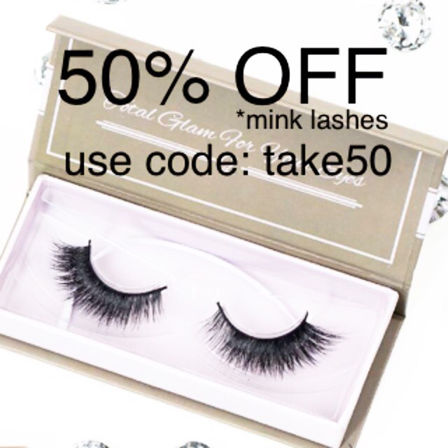 Black Friday/Cyber Monday Sale!  50% off all Mink lashes, use code: take50 www.glamuplashes.com Happy Shopping!! #glamuplashes #lashes #eyelashes #falselashes #falseeyelashes #minklashes #minkeyelashes #lashesfordays #lashesonfleek #longlashes #eyelashesfordays #longeyelashes #fakeeyelashes #fakelashes #hudabeauty #wakeupandmakeup #vegas_nay #luxurybrand #anastasiabeverlyhills  #volumelashes #lashaddict #instabeauty #instashare #makeup #motd # #3dlashes  #blackfriday #blackfridaysale #cybermonday