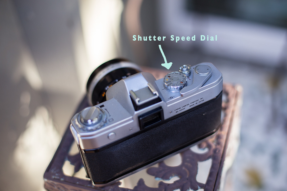 There is a good chance that your speed dial is located in a different place. If you don't know what to look for use your camera manual.  Also, the Tv setting is shutter speed priority-meaning you set the shutter speed and camera adjusts the aperture for you.