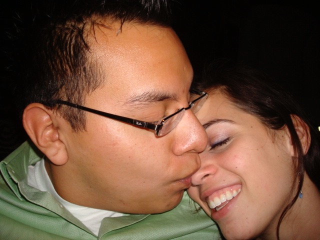 """photo circa 2008, 'cause we didn't take photos together when we weren't. """"dating"""""""