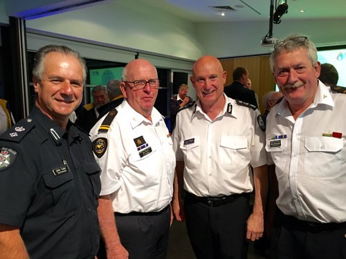 MSAR representatives at the recent Port Phillip regional forum with Craig Lapsley, Victoria's Emergency Management Commissioner (third left)