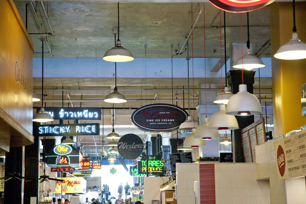 Grand Central Market / Downtown LA, CA / img cred: Kara McCulloh