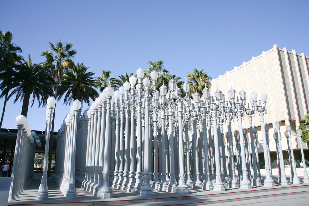 'Urban Light' by Chris Burden @ LACMA / Los Angeles, CA / img cred: Kara McCulloh
