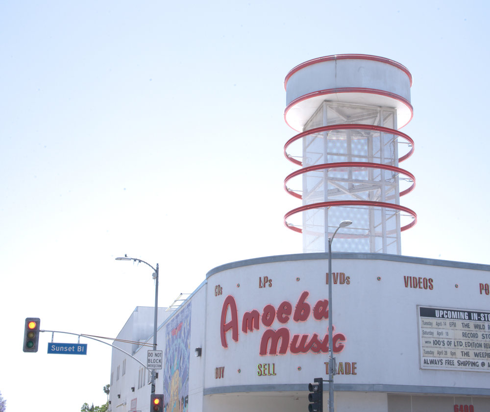 Amoeba Music / Hollywood, LA / California / img cred: Kara McCulloh