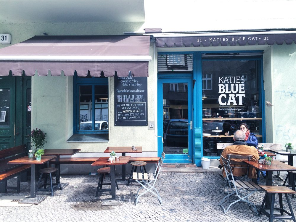 Katie's Blue Cat Cafe / Berlin, Germany