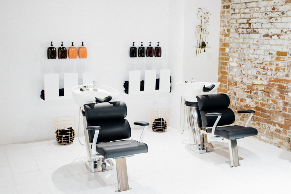 Knives Out Salon / Arts District / LA, CA / img cred: Knives Out Salon