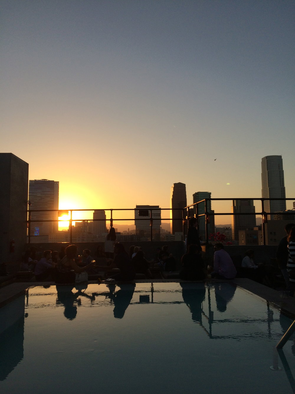 """Upstairs"" Rooftop Bar Ace Hotel / LA, CA"