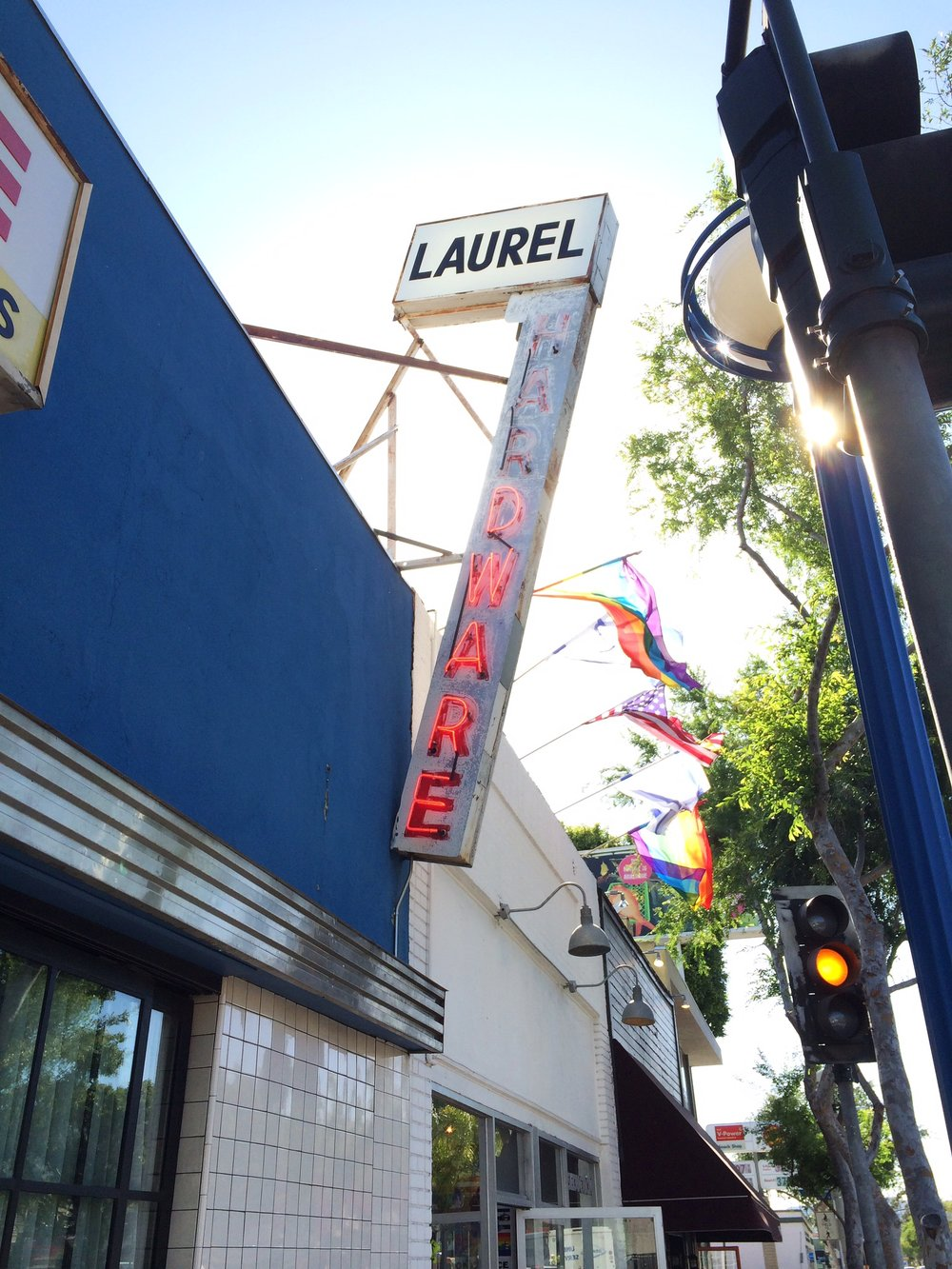 Laurel Hardware / West Hollywood, LA / California