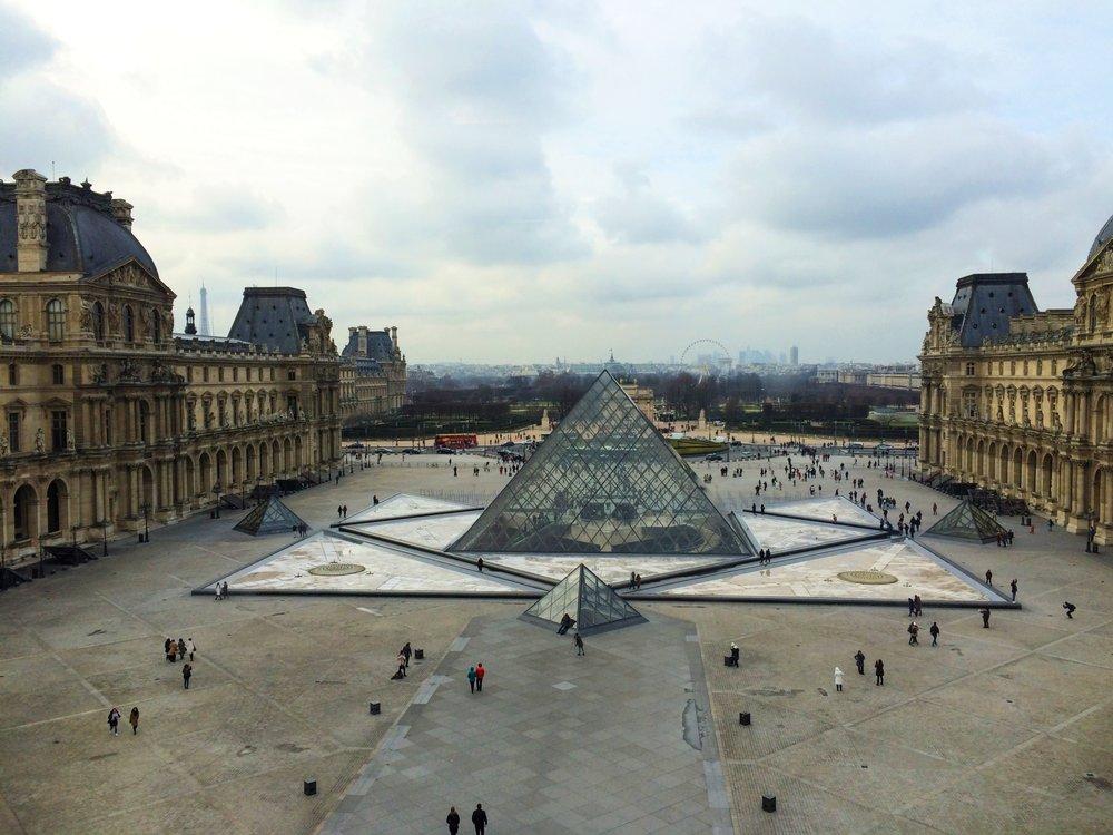 The Louvre | Paris | source: Alexis Rockley, Local (Tourist)