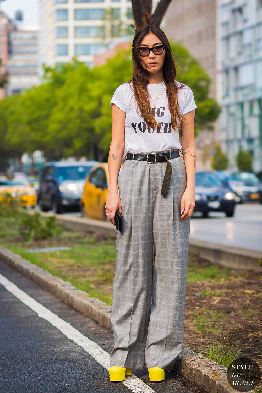 Jayne Min via Style Du Monde