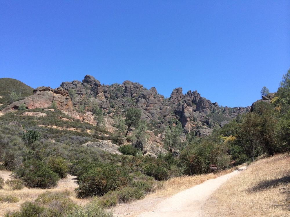 The Pinnacles. This is a great moderate hike.