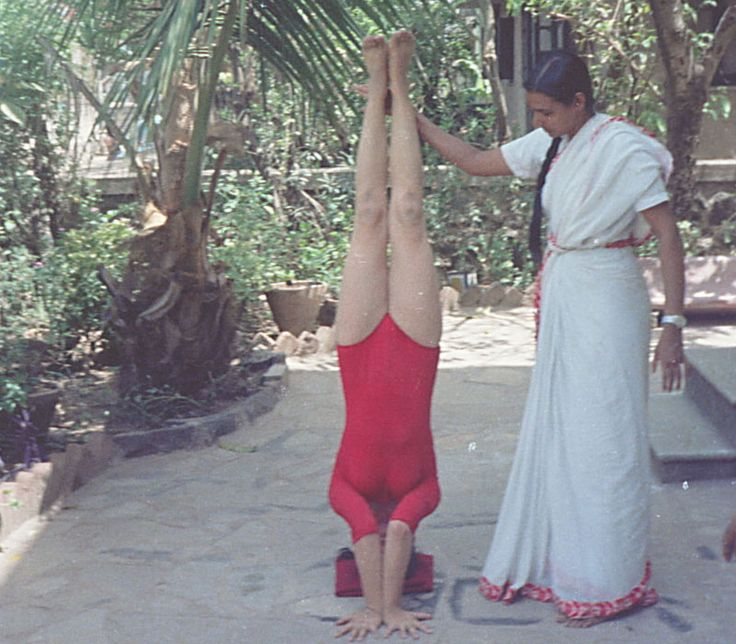 INVERSIONS - Need to be practiced under the guidance of an experienced teacher as they have multiple contraindications that need to be addressed with the individual.