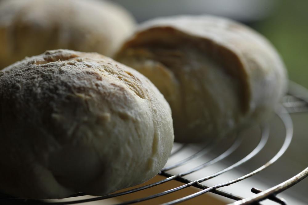 Organic Sourdough Bap Rolls @ Chi Kiosk