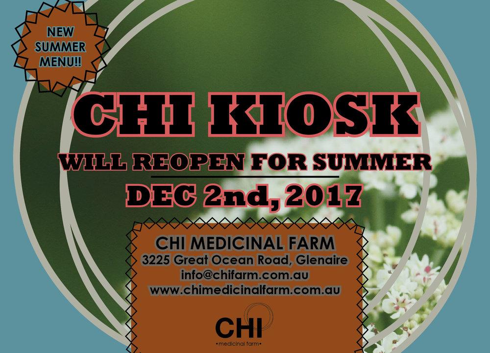 Chi Kiosk Great Ocean Road, Glenaure, Victoria, Summer 2017