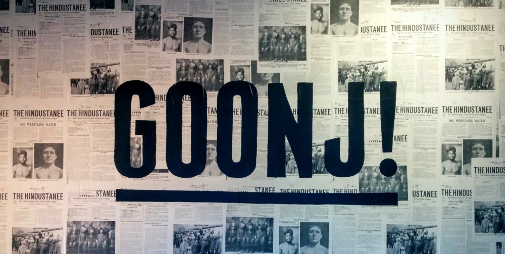 GOONJ! art exhibition.