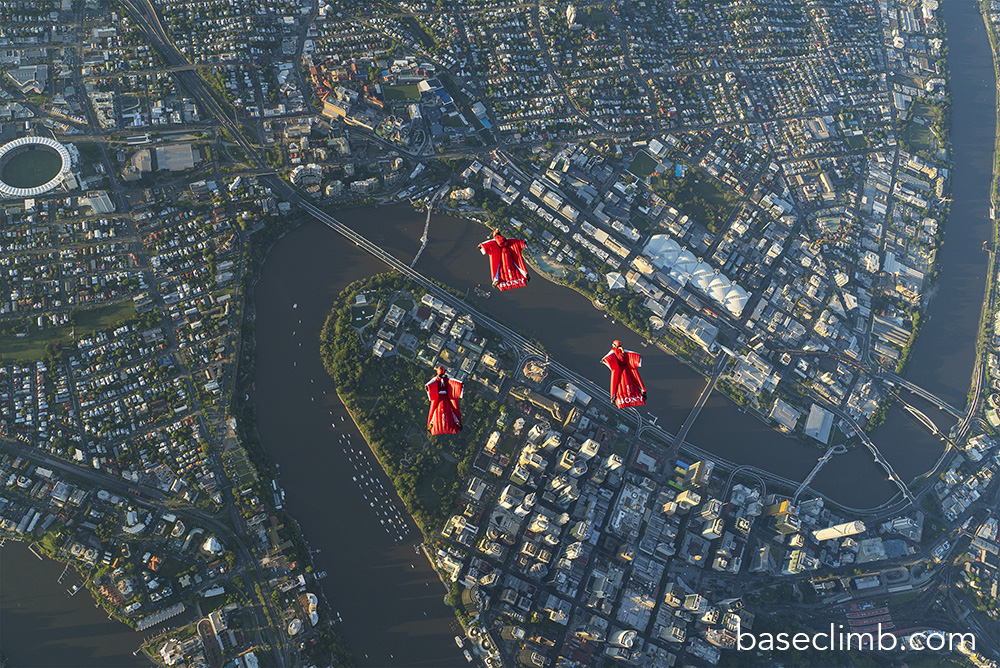 Flying Brisbane