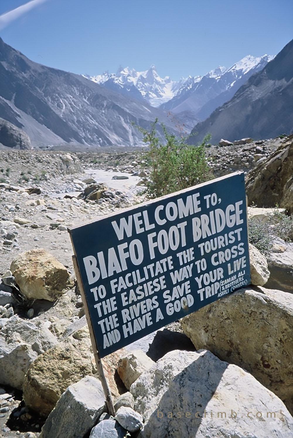 Biafo Pakistan Baseclimb 2