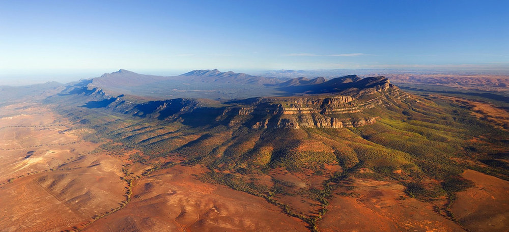 Wilpena Pound in the Flinders Rangers of South Australia