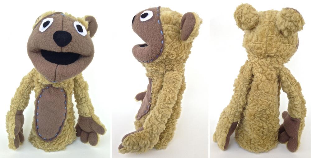 Brown Bear Puppet