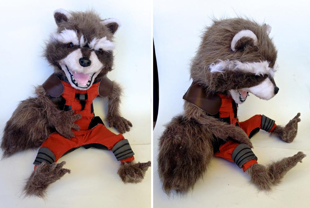 Rocket Raccoon Puppet