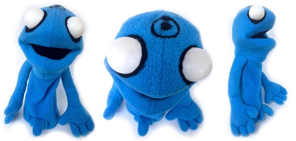 Dr. Manhattan Puppet