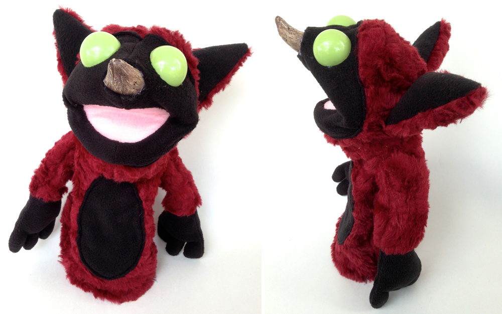 Spike-Nosed Fox Puppet