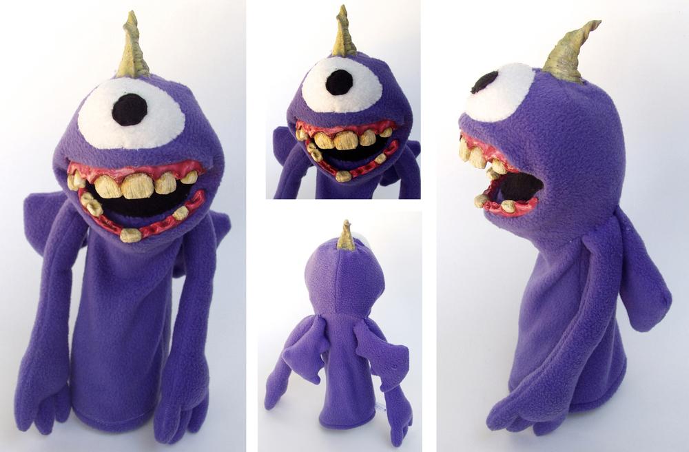 Purple People Eater Puppet