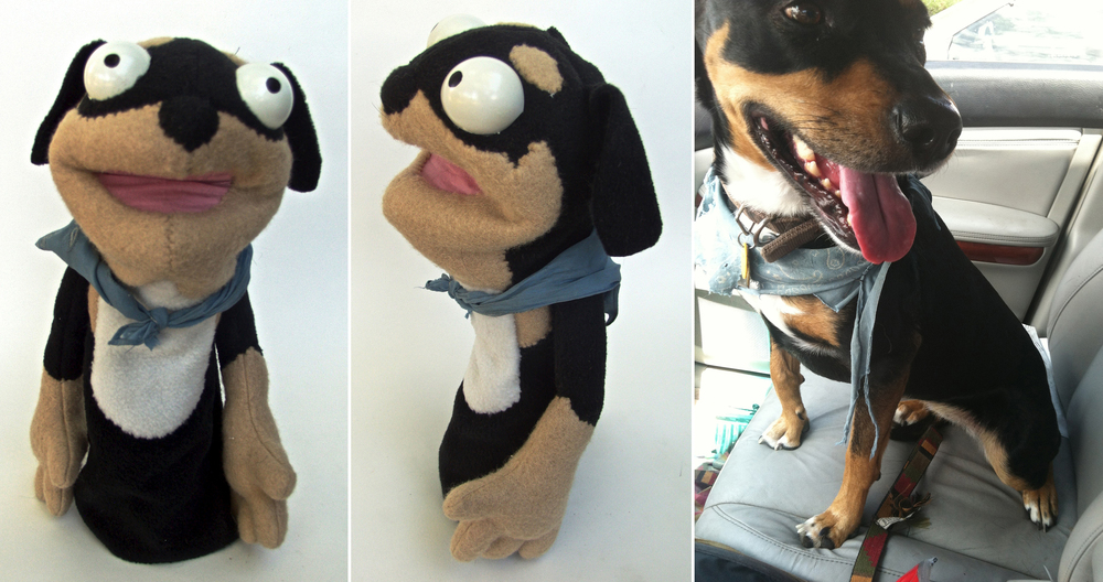Zebu Puppet