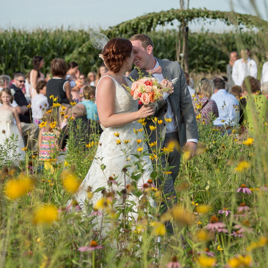 hANNAH AND mICHAEL Prarie Wedding - GALLERY