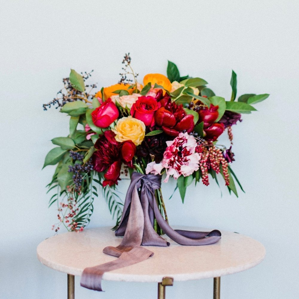 Fig House color & cosmos Styled Shoot
