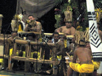 Musicians at the Tahaitian Dance and Drumming Competition